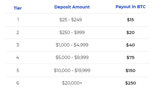 BlockFiの入金キャンペーン