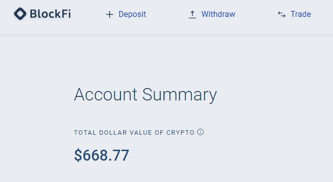 BlockFiに入金